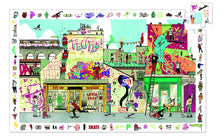Load image into Gallery viewer, Djeco 200 Piece Observation Puzzle - Street Art