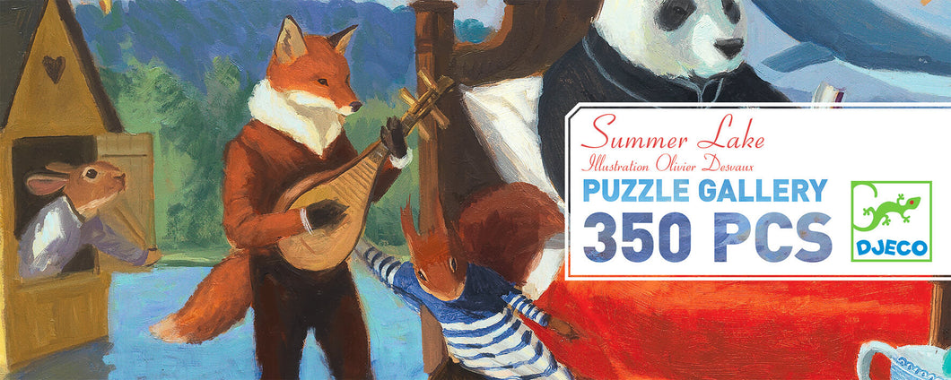 Djeco 350 Piece Gallery Puzzle - Summer Lake
