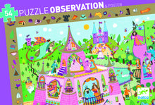 Load image into Gallery viewer, Djeco - 54 Piece Observation Puzzle - Princess