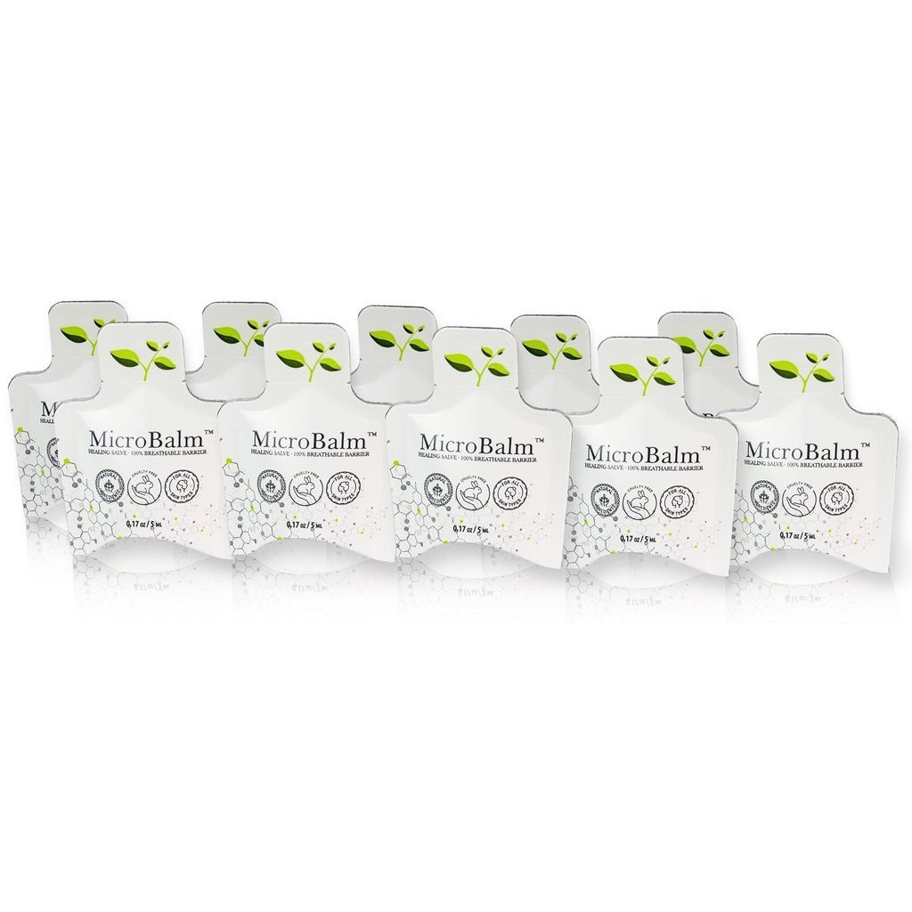 (10 Pack) MicroBalm Pillow Packs - (5ml each) - Sampler Pack-Browbox