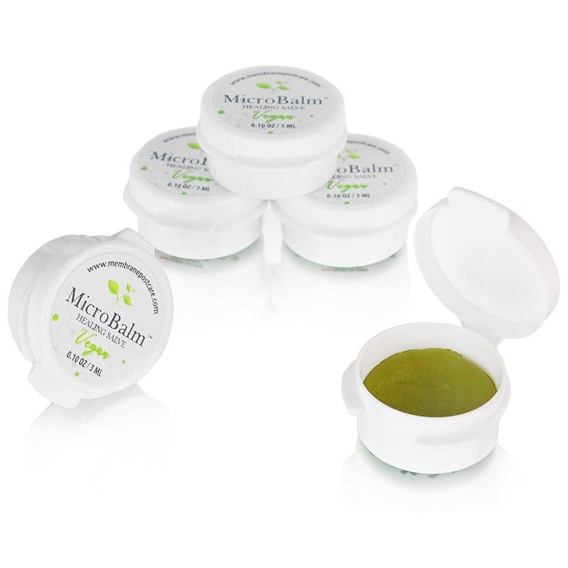 (5 Pack) MicroBalm Vegan Minis (3ml Button Jars)-Browbox