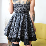 Load image into Gallery viewer, Rockability Rocker Pin Up Dress - ZoMa Collective
