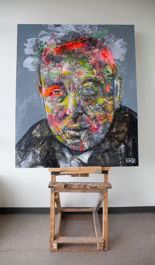 Jack (Portrait of CS Lewis)
