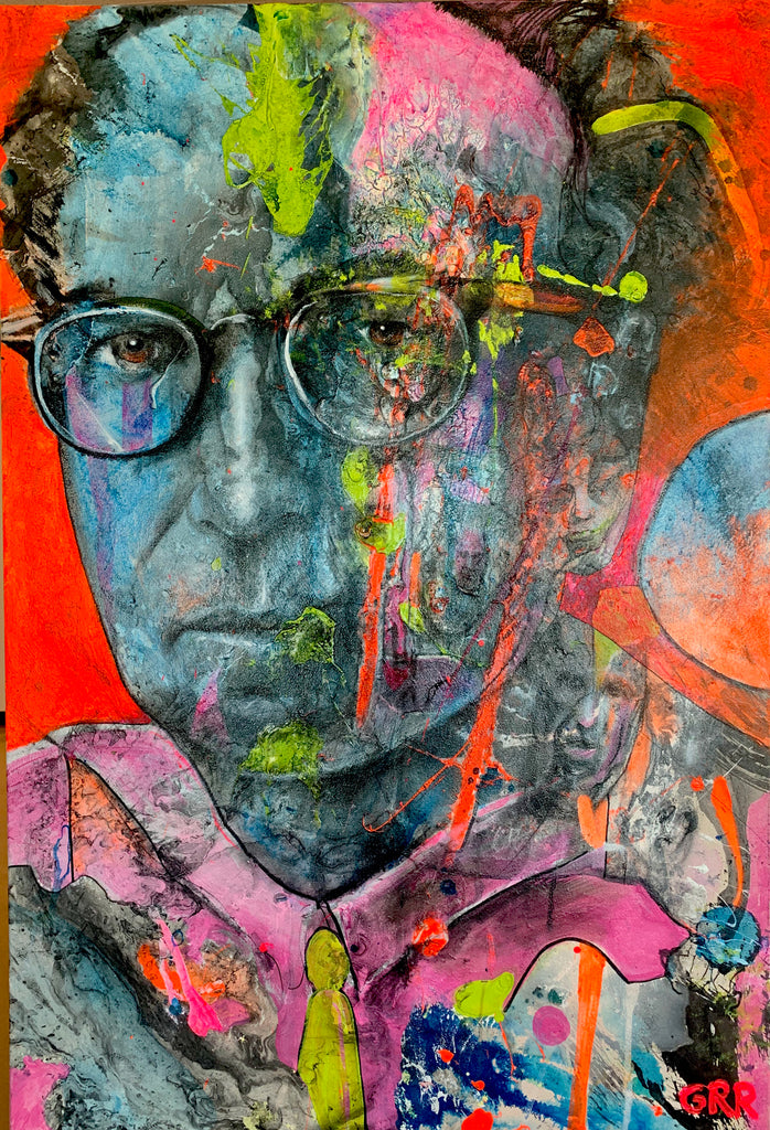 Portrait of Victor Frankl