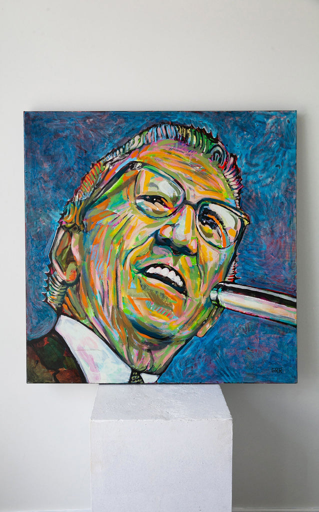 Portrait of Tommy Douglas