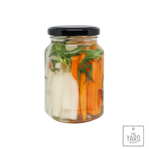 Pickled Carrot+White Radish