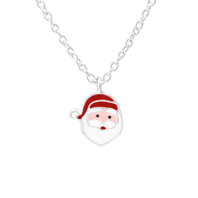 Santa Claus Children's Necklace