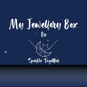 'My Jewellery Box' by Sparkle Together Imagine the look on their face every month as a package addressed to them falls through the door. Once opened the smiles are guaranteed with our monthly Children's jewellery subscription service.