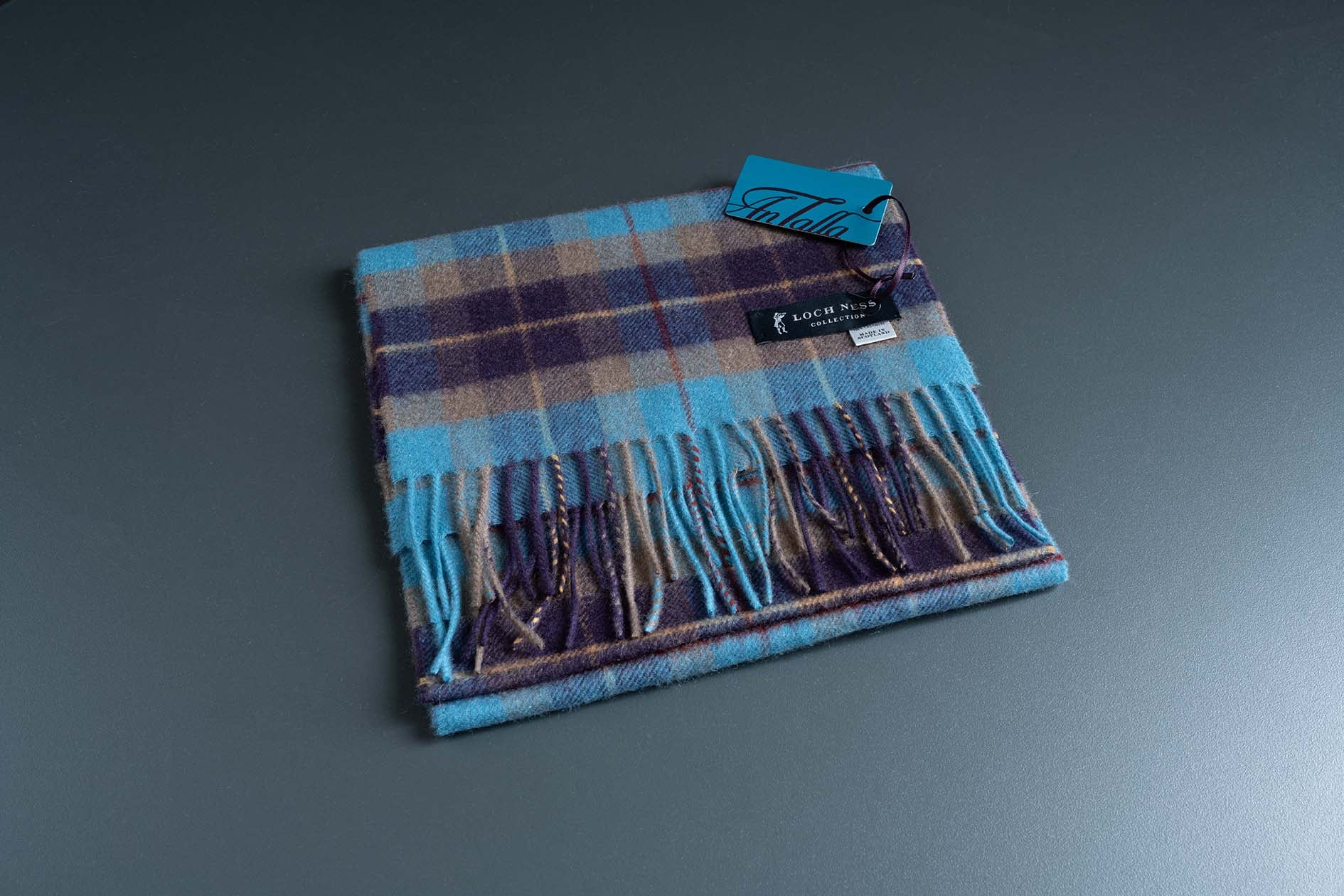Loch Ness Collection Cashmere Scarf