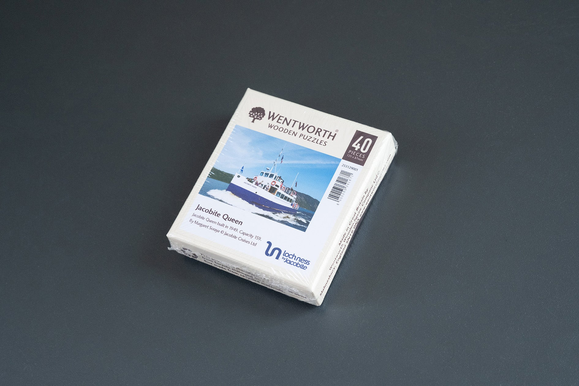 Small boat Jigsaw 40 pieces