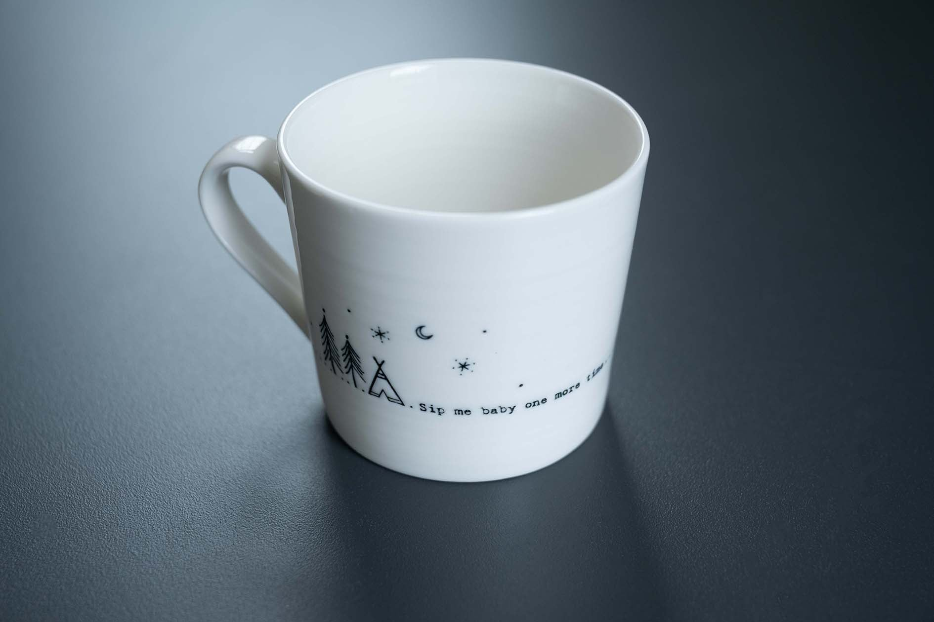 East of India Wobbly Mug - Sip me baby