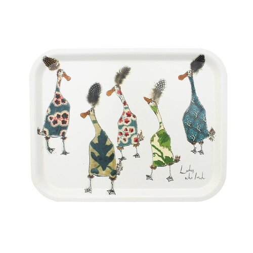 Anna Wright 'Ladies Who Lunch' Tray