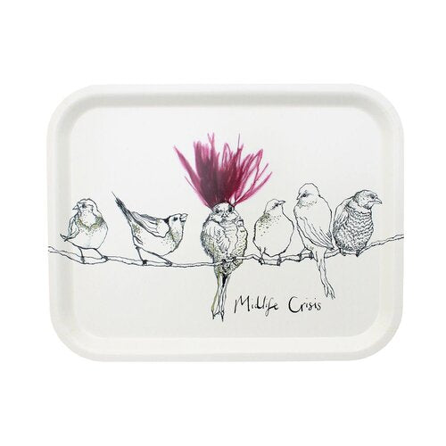 Anna Wright 'Midlife Crisis' Tray