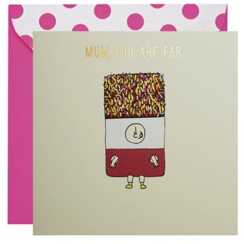 Mum, You Are Fab Mother's Day Card