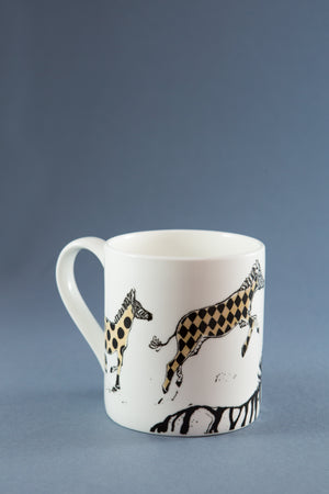 Anna Wright Mug 'Hot To Trot'