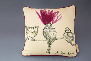 "Anna Wright ""Midlife Crisis"" Display Pillow"