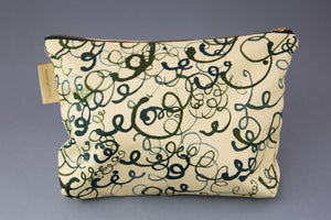 "Anna Wright washbag ""Knitting Circle"""