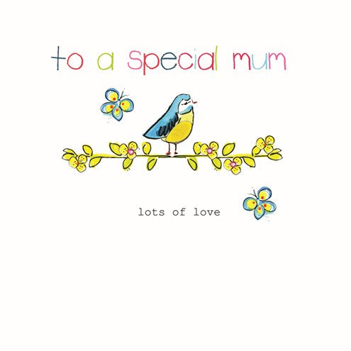 To A Special Mum Card