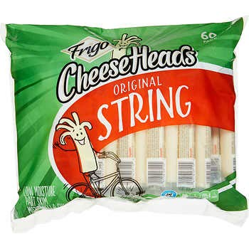 String cheese heads, 60 pack