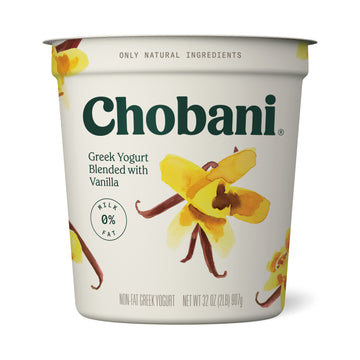 Chobani Vanilla Greek yogurt, 32 oz