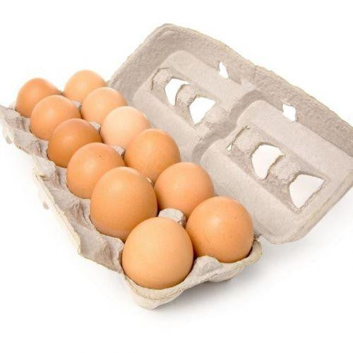 Brown eggs, cage free, dozen