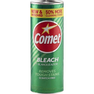 Comet with bleach, 21oz