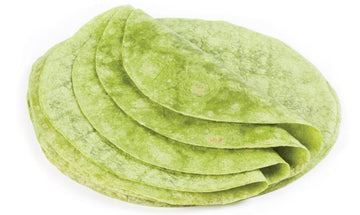 "12"" Spinach tortilla, 12 count"