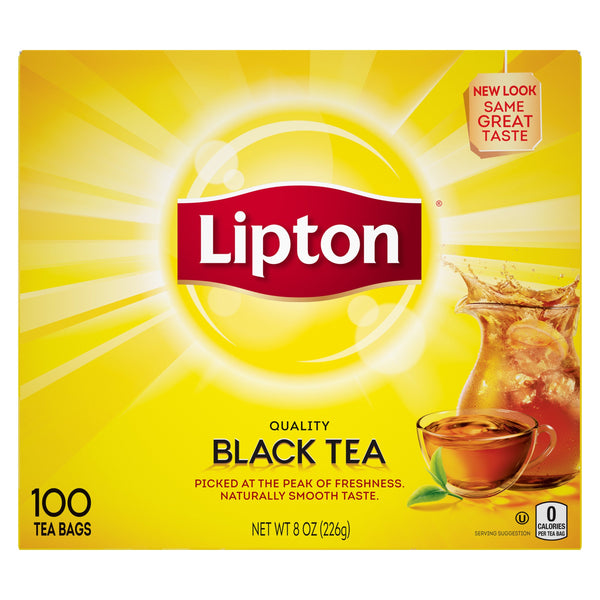Lipton black tea, 100 count