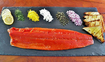 Cold smoked salmon, 8oz