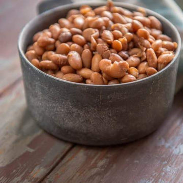 Pinto beans, dried