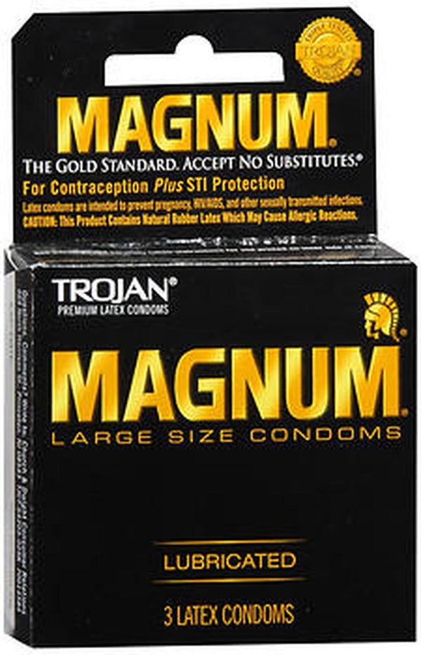 Trojan magnum condoms, 1 pack