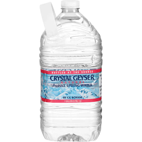 Crystal Geyser water, 1 gallon