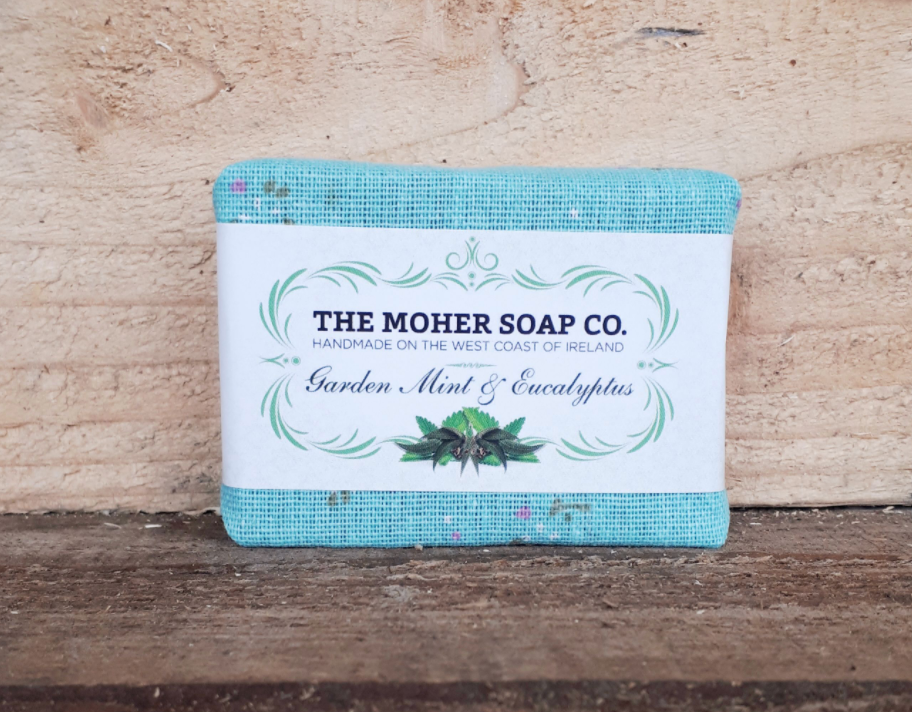Garden Mint and Eucalyptus Natural Soap - Cotton Face Masks