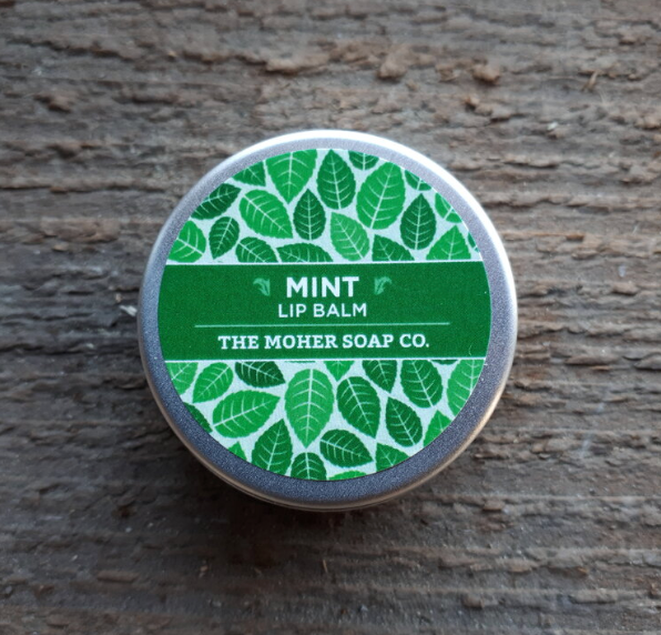 Mint Lip Balm - Cotton Face Masks
