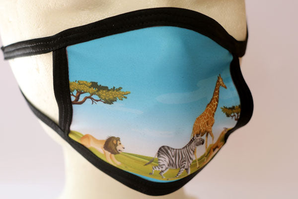 Zoo - Print Face Mask - Cotton Face Masks