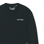 Afbeelding in Gallery-weergave laden, not today oversized sweater