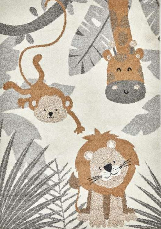 Safari Kids Rug in Jungle