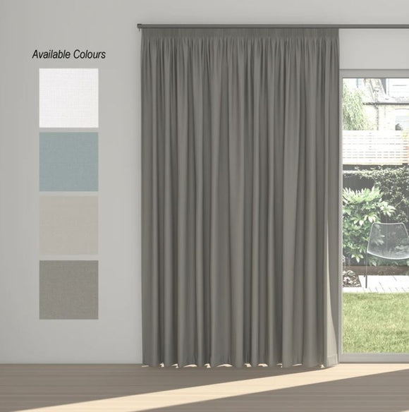 Dusk Taped Curtains (100% Block Out)