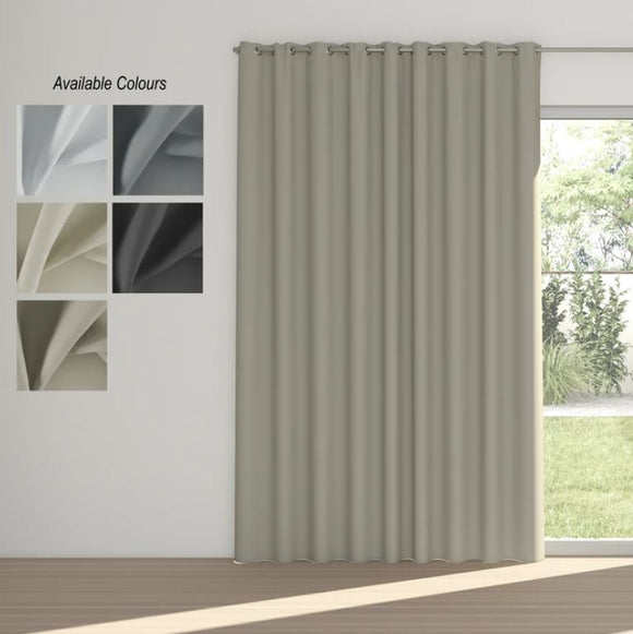 Night Time Eyelet Curtains