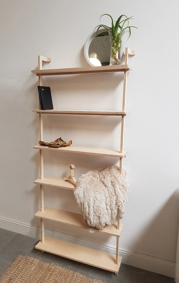 Lean Birch Shelf