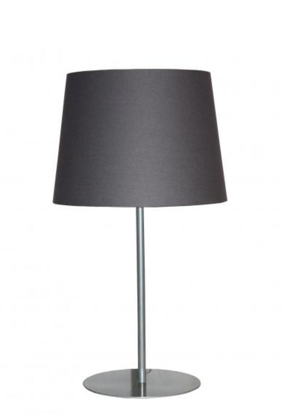 Metal Charcoal Table Lamp