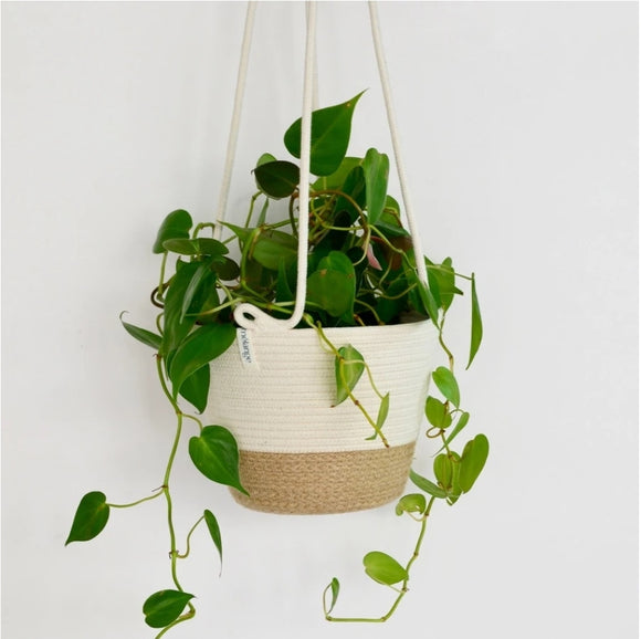 Hanging Planter Basket Jute