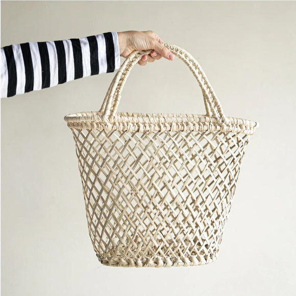 Open Weave Beach Bag