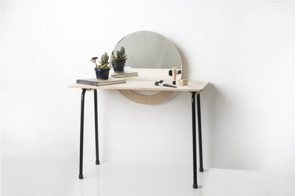 Vanity Desk with Mirror