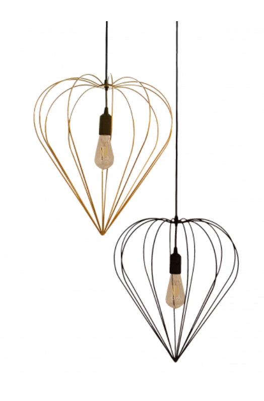 Abbi Heart Light Pendant