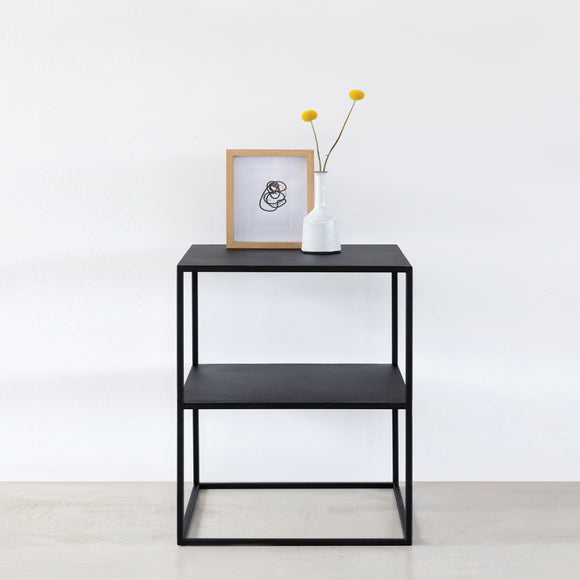 Teagan Steel Side Table