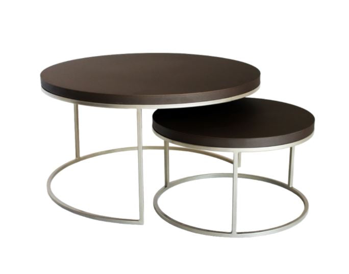 Mocha Nesting Coffee Tables