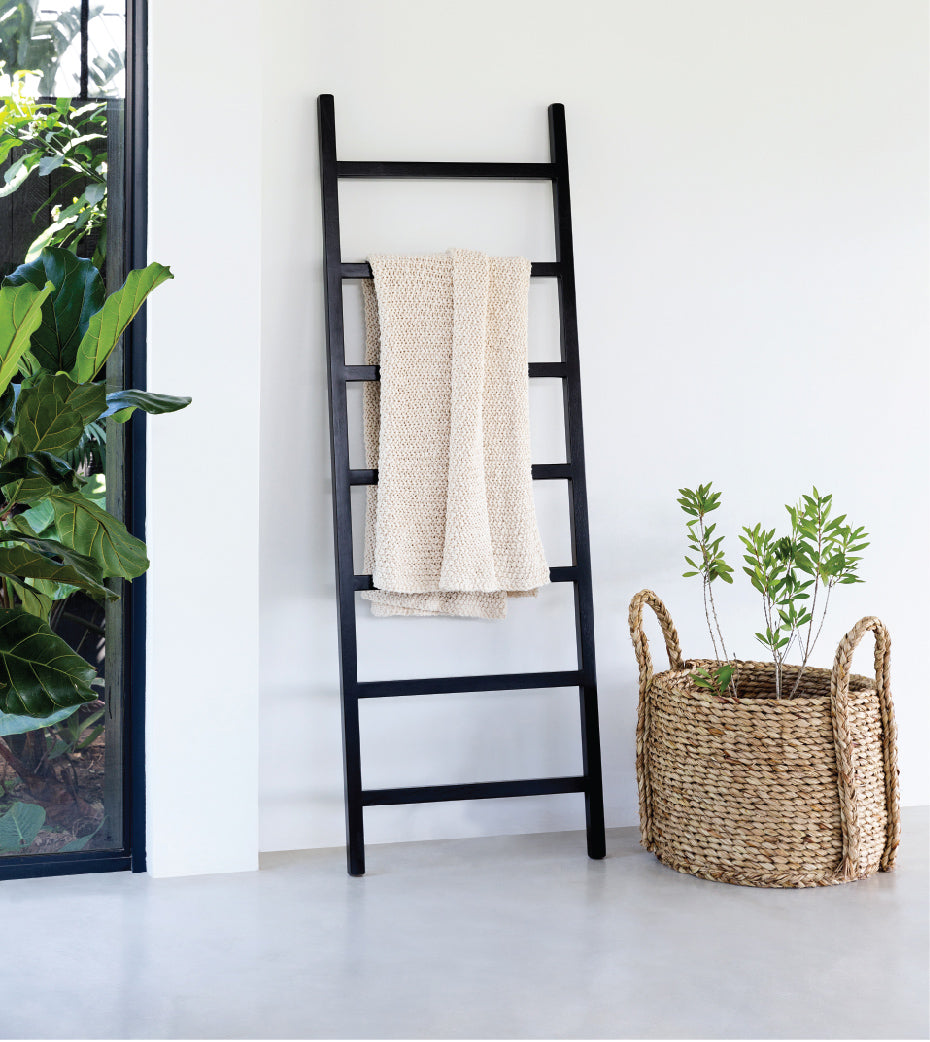 Decor Leaning Wall Ladder 1