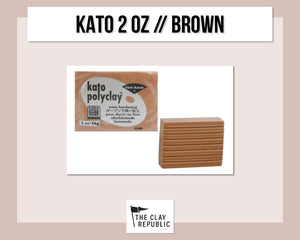 Kato Polyclay 2 oz - Brown