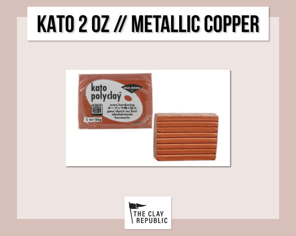 Kato Polyclay 2 oz - Metallic Copper